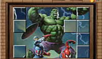 Photo Mess - Hulk With Friends Game
