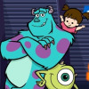Monsters Inc Boo's Hide and Scream Game