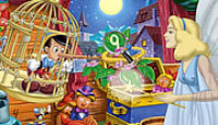 Hidden Numbers-Pinocchio Game
