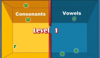Practice Vowels And Consonants Game