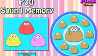 Pou Sound Memory Game