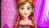 Frozen Anna Natural Makeover Game