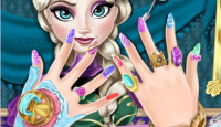 Elsa Nails Spa Game