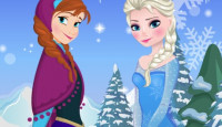 Anna Frozen Adventures Part 1 Game
