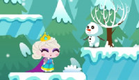 Snow Queen Save Princess Game
