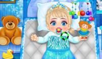 Frozen Baby Care Game