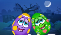 Halloween Egg Care Game