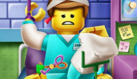 Lego Hospital Recovery Game