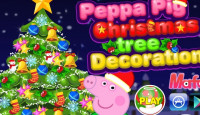 Peppa Pig Christmas Tree Decoration Game