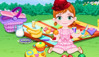 Baby Anna Picnic Day Game