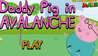 Daddy Pig In Avalanche Game