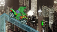Hulk Super Bike Ride Game
