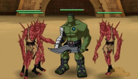 Hulk Planet Gladiators Game