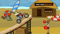 Johnny Bravo Beach Stunts Game