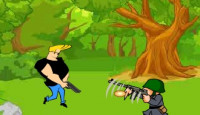 Johnny Bravo Military Zone Game
