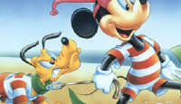 Mickey And Pluto Puzzle Game