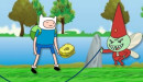 Adventure Time Funny Sport Game