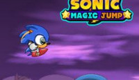 Sonic Magic Jump Game